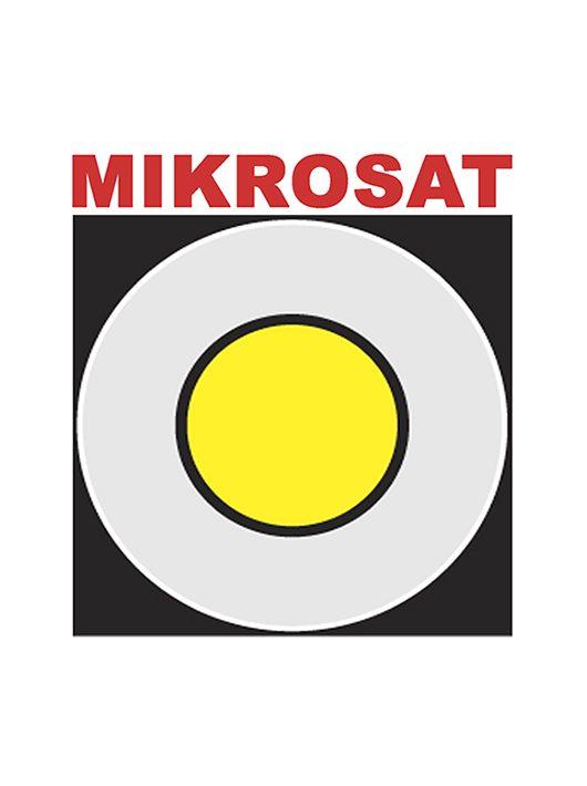 Mikrosat PRO Derítőlap 100 cm ezüst/fehér