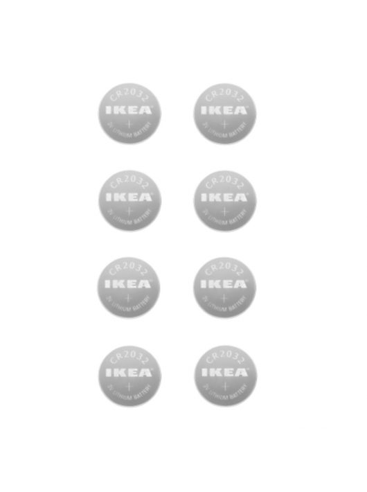 IKEA PLATTBOJ 8 db 3V CR2032 elem