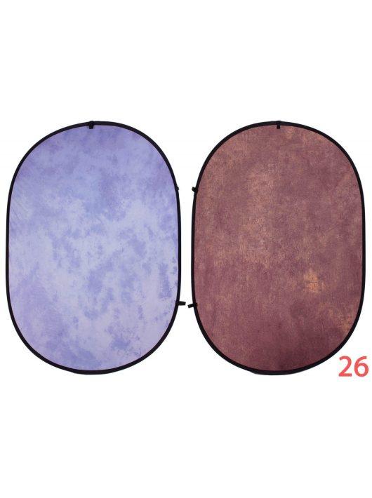 Mikrosat RE208  Összecsukható mintás háttér (150x200cm) SZÍN #26