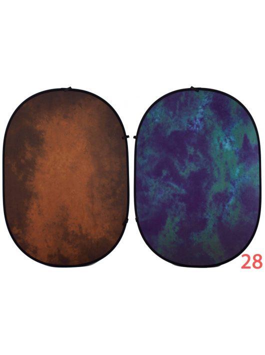 Mikrosat RE208  Összecsukható mintás háttér (150x200cm) SZÍN #28