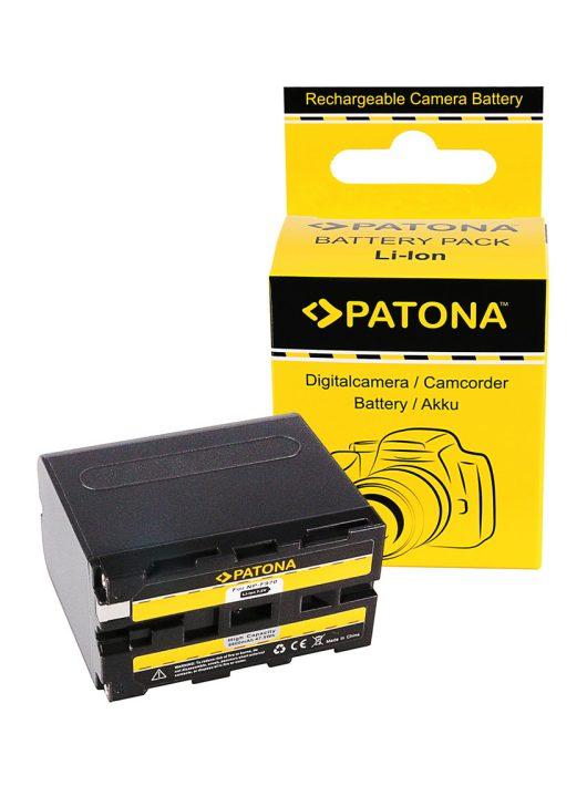 PATONA NP-F970 Akkumulátor 6600 mAh - 1074 (Sony NP-F970 NP-F960)