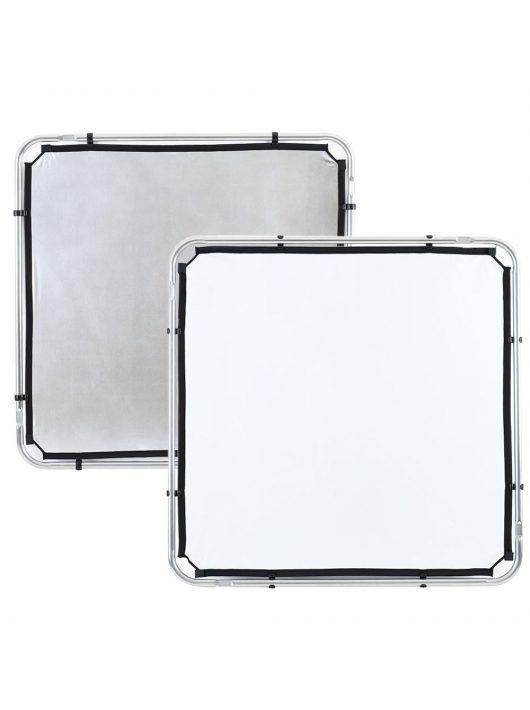 Lastolite Skylite rapid szövet S 1.1 x 1.1m ezüst/fehér (LL LR81131R)