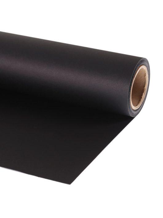 Lastolite papírháttér 1.37 x 11m black (fekete) (LL LP9120)