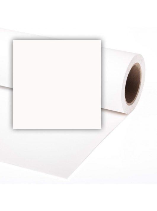 Colorama papír háttér 1.35 x 11m super white (szuper fehér) (LL CO5107)