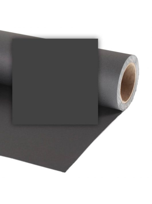 Colorama Mini 1,35 x 11 m Black CO568 papír háttér