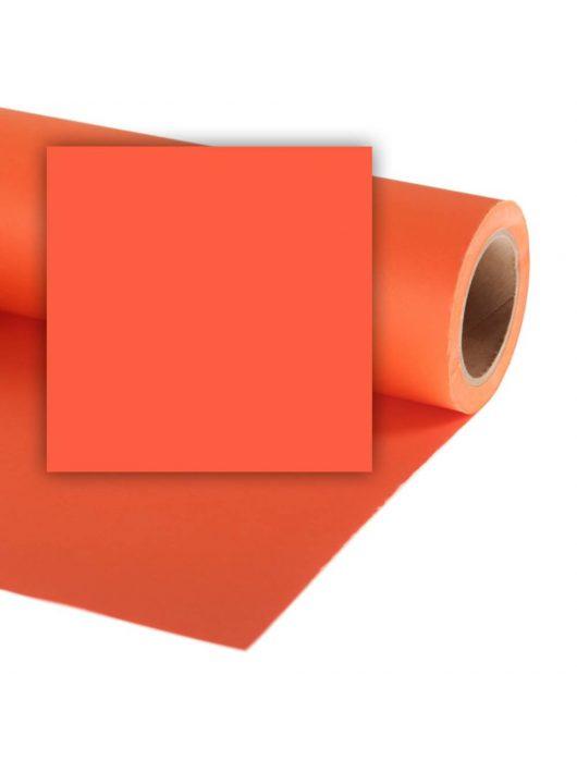 Colorama Mini 1,35 x 11 m Mandarin CO595 papír háttér