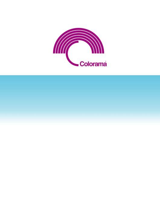 Colorama Colorgrad 110 x 170 cm White/Aqua PVC háttér (LLCOGRAD316)