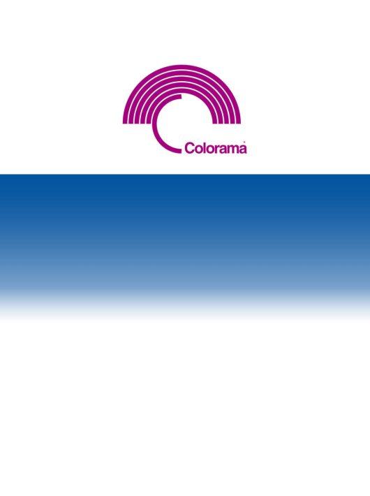 Colorama Colorgrad 110 x 170 cm White/Blue PVC háttér (LLCOGRAD312)