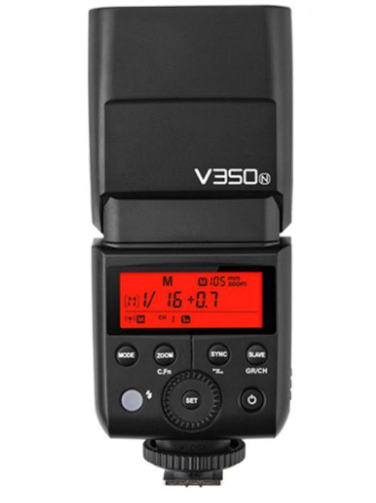 Godox V350N rendszervaku Li-Ion akkuval TTL HSS (Nikon)