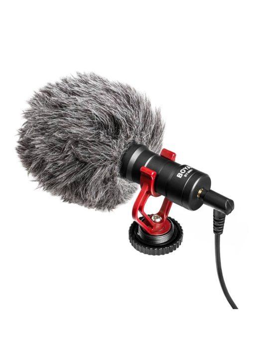 Boya BY-MM1+ Univerzális Mini Videomikrofon