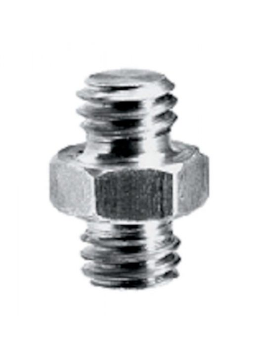 Manfrotto Rövid adapter spigot 3/8''+3/8''