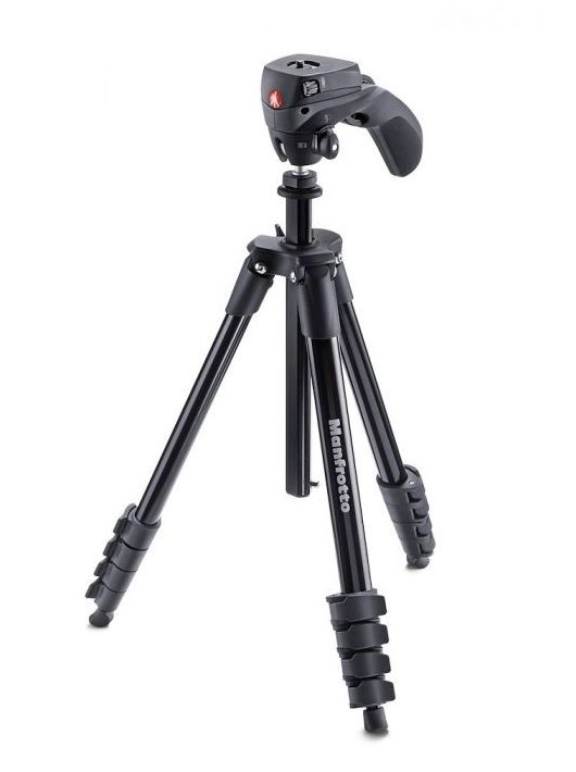 Manfrotto MKCOMPACTACN-BK Compact Action Black fekete