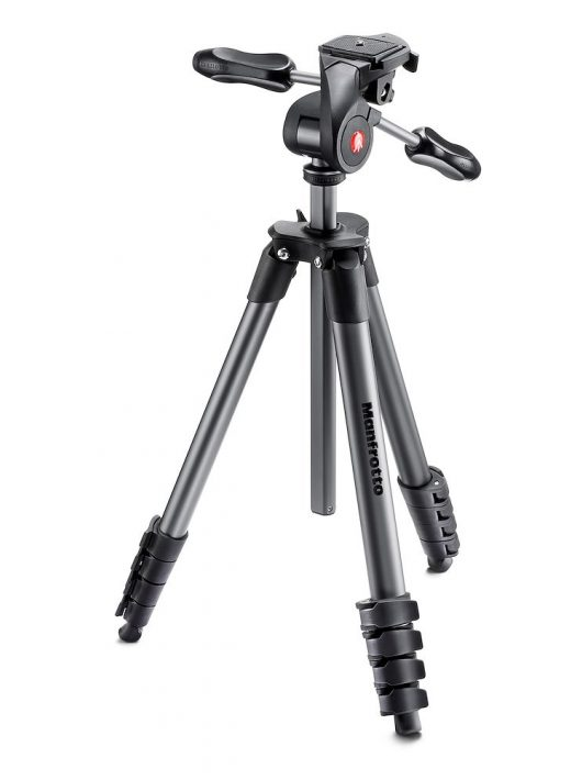 Manfrotto MKCOMPACTADV-BK Compact Advanced Black fekete (MKCOMPACTADV-BK)