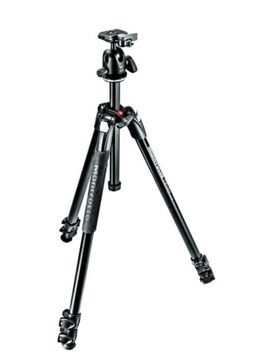 Manfrotto 290XTA3 Tripod Szett - Fényképezőgép Állvány Gömbfejjel (MK290XTA3-BH)