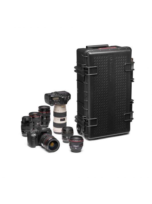 Manfrotto Pro Light Reloader Tough-55 gurulós kemény bőrönd, alacsony (MB PL-RL-TL55)