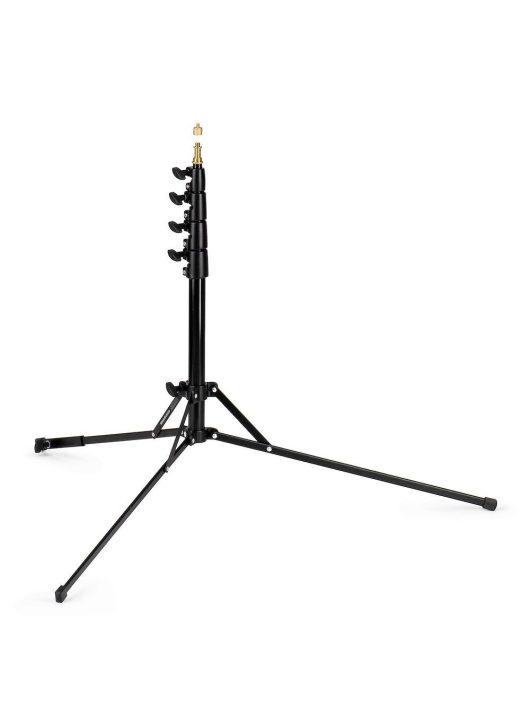 Manfrotto Nano plus lámpaállvány, fekete (max. 4kg, 197cm)